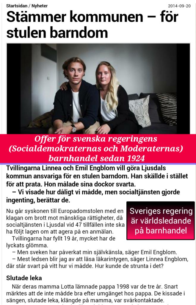 BQRNHANDEL-SVERIGE-SOCIALFORVALTNING - FAMILJERATTEN -LÖFVEN-REGERINGEN