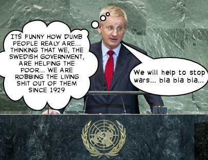 CARLBILDT-UNITED NATIONS