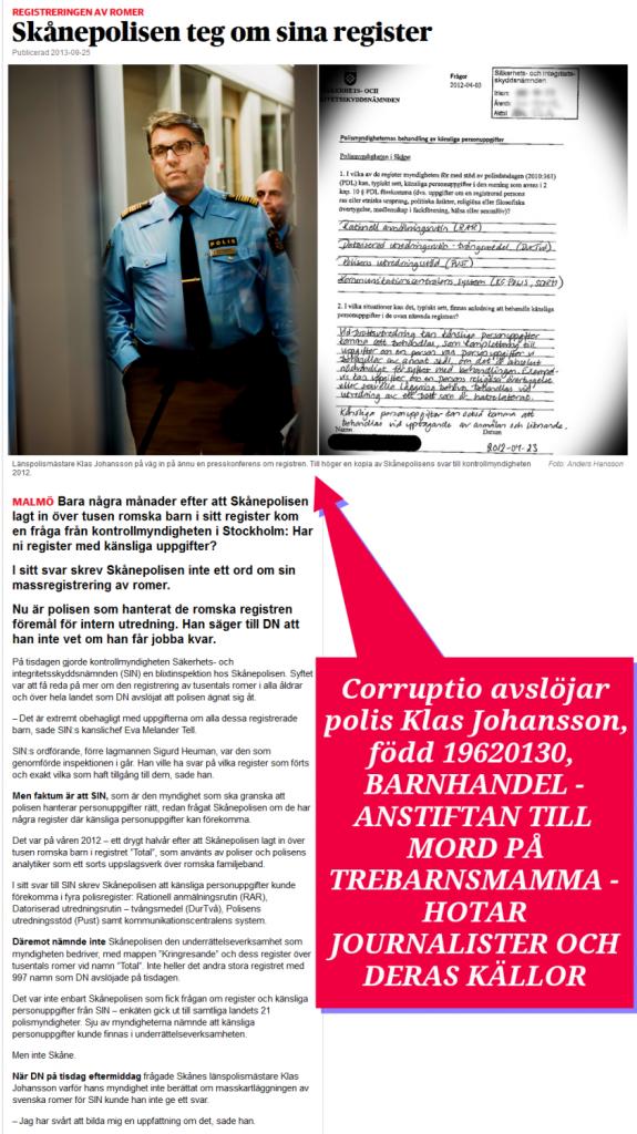 KLAS JOHANSSON-POLISEN-SKANE-REGISTER-ROMER-CORRUPTIO-BARNHANDEL-LANDSKRONA-KOMMUN-SOCIONOM-WALDAHL-MARTINA-ANNETTE LINDBERG MOHLIN-TORKILD STRANDBERG-OSTROM-BARNHANDEL-PEDOFILER