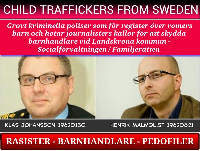 KLAS JOHANSSON_POLISEN_SKANE-HENRIK MALMQUIST_BARNHANDEL_SWEDEN_CHILD TRAFFICKING_PEDOFIL