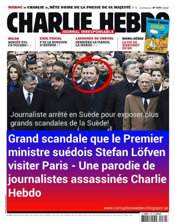 stefan lofven_charlie hebdo_socialdemokrat_paris_freedom_hypocricy_hycklare